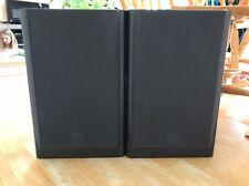 JBL LX22 Bookshelf Speakers Black 8ohms.  Titanium Tweeter