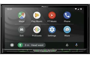 Pioneer AVIC-W8600NEX DVD Player GPS Bluetooth WiFi Weblink CarPlay Android Auto