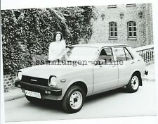 Toyota Starlet with Woman Car Automotive Photography Photo Photographer