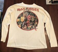 Vintage Iron Maiden Bring Your Daughter To The Slaughter 1990 Tour Long Sleeve