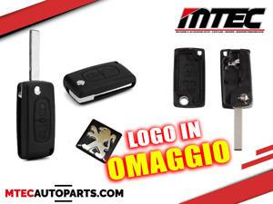 Telecomando 2 TASTI Cover Guscio Chiave Peugeot 407 408 307 308 107 207