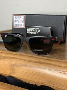 Ray-Ban Scuderia Ferrari Collection Men's Square Sunglasses - Gray Frames