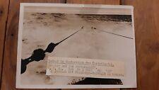 Pressefoto Kriegsmarine, U-Boot im Wintersturm des Nordatlantik