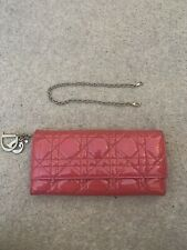 Dior Pink Patent Leather Purse