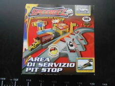 Playmates Speedeez Area Servizio Playset & Cars micro machines Pit Stop Gig