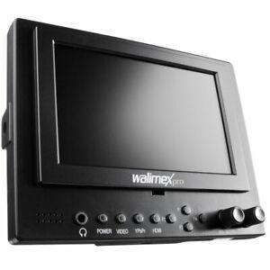walimex pro LCD Monitor 12,7 cm 5 Zoll Video DSLR Kamera