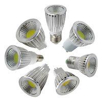 Ultra Bright MR16 GU10 E27 E14 COB LED Light Bulbs 6W 9W 12W Spot Bulb Light