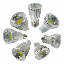 Ultra Bright MR16 GU10 E27 E14 COB LED Light Bulbs 6W 9W 12W Spot Bulb Light
