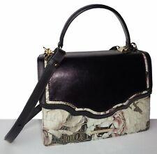 Brahmin Mini Francine Eden Garland Melbourne Leather Satchel NWT $325