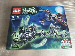 new*** LEGO STAR MONSTER FIGHTERS GHOST TRAIN 9467 PLEASE READ - NOT OPENED****