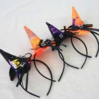 Halloween Witch Mini Hat Hairband Headband Cosplay Party Fancy Dress Costume