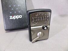 Zippo BILIARDO - Black stuoia - Distintivo - nuovo & confezione originale - #741