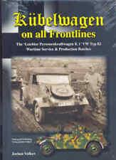 El Kübelwagen sobre Todo Frontlines por Jochen Voller Libro Tipo 82 German Army