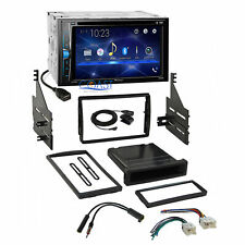 Pioneer 2018 DVD Bluetooth Stereo 2Din Dash Kit Harness for 05-06 Nissan Altima