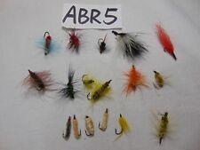Vintage Rare Handmade Fly Fishing Lures Lot Of 17 Rare Flies
