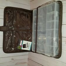 Everything Mary folding bead organizer brown/blue New with tag