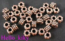 300 Pcs Antiqued Copper Plt Tube Spacer Beads A288