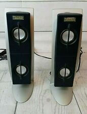 Genuine Altec Lansing AMS2100 Right & Left Replacement Speakers Untested