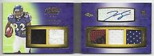 TORREY SMITH 2011 TOPPS PRIME LEVEL II (2) 5 PIECE PATCH AUTO BOOK RC #D 11/15