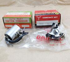 NOS Honda CA100 C100 Cub 50 S65 CA105T Trail 55 Contact Points + Condenser Japan