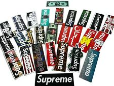 100 PCS Supreme Skateboard Longboard Vintage Decals Vinyl Sticker Laptop Luggage