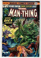 Marvel MAN-THING #10 - Ploog Art - VF/NM Oct 1974 Vintage Comic