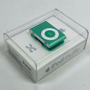 Apple iPod Shuffle 2nd Generation Green 1GB - A1204 - Brand New In Box