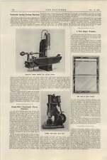 1922 Ships Window J Stone Deptford Massey Openshaw Pneumatic Power Hammer