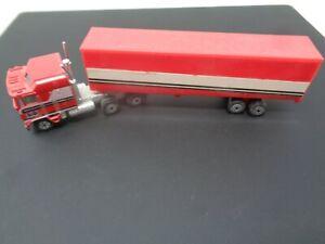 🔥Vintage 1981 Yatming Semi Tractor Trailer Truck Kenworth 1/64