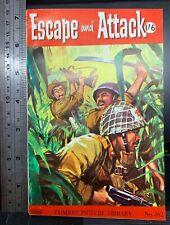 Escape and Attack pulp magazine, no. 262, c. 1962, Combat Picture Library, war