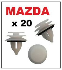 20 x MAZDA Door Card Interior Trim Panel Retainer Clip Fastener with Washer