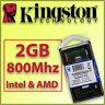 RAM DDR2 2GB 800Mhz - Portátil SO-DIMM ¡ NUEVA ! - 100% COMPATIBLE Intel y AMD