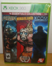 NEW 2K Essentials Collection (Bioshock, Borderlands, Xcom Enemy Unkown) Xbox 360