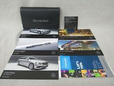 MERCEDES 2017 E CLASS WAGON OWNERS MANUAL IN GREAT CONDITION
