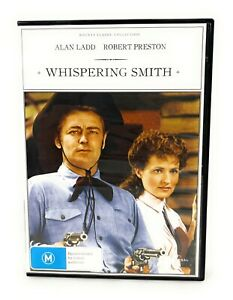 Whispering Smith (DVD, 1948) Alan Ladd Region 4 Free Postage