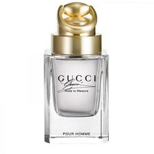 GUCCI MADE TO MEASURE FOR MEN-EDT-SPRAY-3.0 OZ-90 ML-AUTHENTIC-TESTER-MADE IN UK