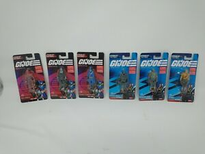 "Lot of 6  GIJoe / Cobra - Carded 2.5"" Tall Mini Figures /  2021 Awesome Retro"
