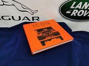 GENUINE LAND ROVER ICON BOOK 2018 ( LFGF412NAA )