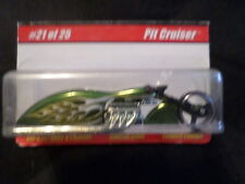 HW HOT WHEELS DAMAGED CARD CLASSICS 1 #21 PIT CRUISER MOTORCYCLE GREEN HOTWHEELS