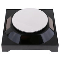 Solar Showcase 360° Turntable Rotating Jewelry Display Stand Holder -Black