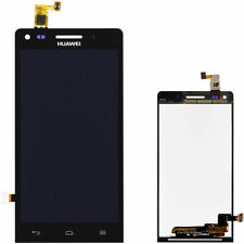 P1 DISPLAY LCD +TOUCH SCREEN per HUAWEI ASCEND G6 NERO ASSEMBLATO VETRO VETRINO