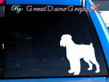 Black Russian Terrier -Vinyl Decal Sticker -Color Choice -High Quality