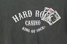 Hard Rock Casino King of Rock Gray 3 Kings T-Shirt Adult L