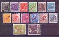 Berlin 1949 - Rotaufdruck - MiNr. 21/34 ungebraucht* - Michel 550,00 € (392)