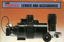 179824 PENTAX LENSES AND ACCESSORIES GENUINE GUIDE 1