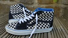 VANS Hi Top Trainers, Boots, UK 9, Black & White Checkered, Good Condition
