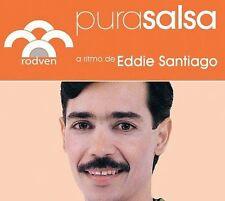 Pura Salsa [Digipak] by Eddie Santiago (CD, Aug-2006, National Own) NEW