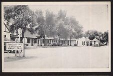 Postcard Corbin Kentucky/Ky Yeary's Tourist Court & Gas Station view 1930's