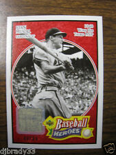 Stan Musial 2005 6/99 UD Baseball Heroes Game Used Pants Card 1/1