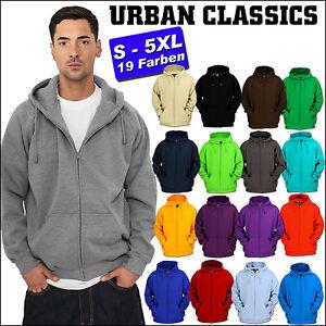 Urban Classics Brillant Zip Veste à Capuche 19 Couleurs S-5XL